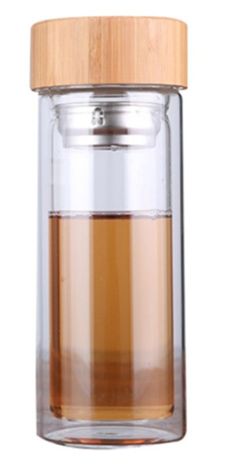glass tea bottle