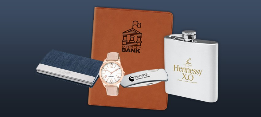 8 Elegant & Engravable Promotional Products