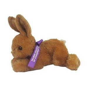 "8"" Bitty Bunny Stuffed Animal w/Ribbon & One Color Imprint"