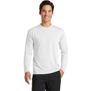 Port & Company® Men's Performance Blend Long Sleeve Tee