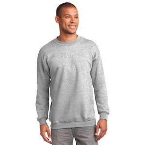 Port & Company® Men's Tall Essential Fleece Crewneck Sweatshirt