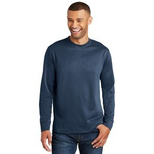 Port & Company® Men's Performance Fleece Crewneck Sweatshirt