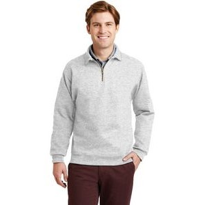 Jerzees® Men's Super Sweats® NuBlend® 1/4-Zip Sweatshirt w/Cadet Collar