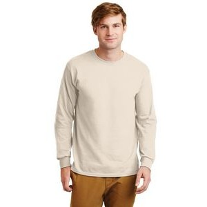 Gildan® Men's Ultra Cotton® 100% Cotton Long Sleeve T-Shirt