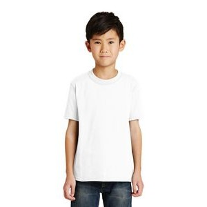Port & Company® Youth 50/50 Cotton/ Poly T-Shirt