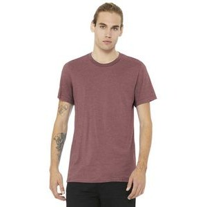 Bella+Canvas® Unisex Heather CVC Short Sleeve Tee