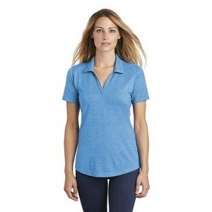 Sport-Tek® Ladies PosiCharge® Tri-Blend Wicking Polo