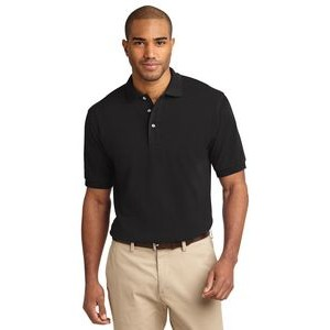 Port Authority® Heavyweight Cotton Pique Polo Shirt