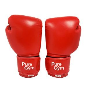 "12""x7""x5"" 10 Oz Boxing Gloves Red"