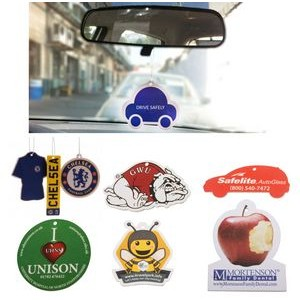 Custom Shape Perfume Car Air Freshener