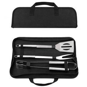 3 pieces BBQ Grill Tools Set