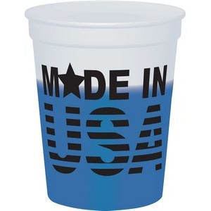16 Oz. Smooth Mood Stadium Cup (Natural to Color)