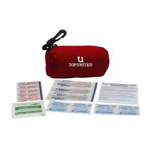 Mini Barrel Bag Personal First Aid Kit #1 (15 Pieces)