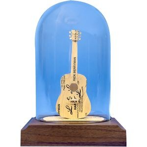 Business Card Sculpture - Guitar