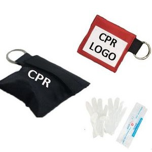 CPR Face Shield w/Keychain Bag