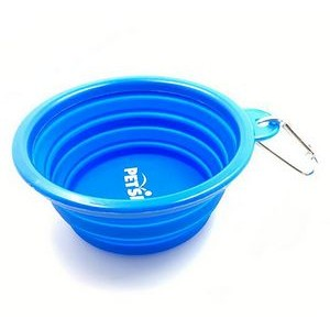 Pet silicone bowl