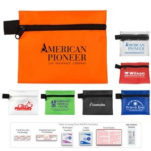 """Take-A-Long Plus"" 8 Piece First Aid Kit"