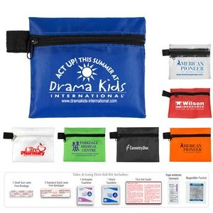 """Tag-a-Long XL"" 9 Piece First Aid Kit"