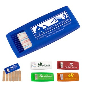 """Ouchie"" 6 Piece Bandage Dispenser (Overseas)"