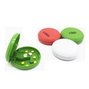 Pill Case with Cutter