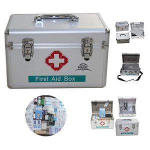 Aluminum Alloy Household Medical First Aid Kit