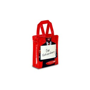 "Laminated Woven Polypropylene Muscle Tote Bag (8""x4""x10"")"