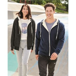 Independent Trading Co. Unisex Sherpa Lined Hooded Sweatshirt