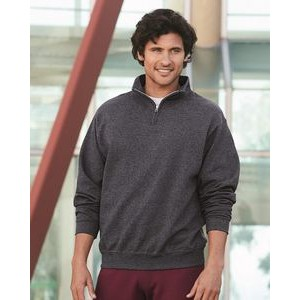 Jerzees® NuBlend® Quarter Zip Cadet Collar Sweatshirt