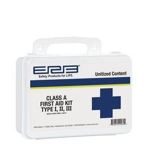 Class A Unitized Plastic First Aid Kit