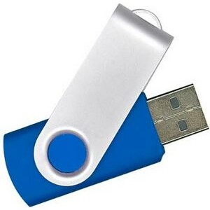 Swivel USB Flash Drive - 2GB