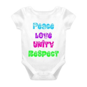 Baby Romper (Includes Full Color Logo)