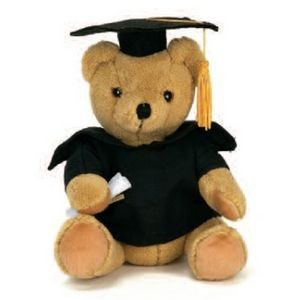 "10"" Extra Soft Graduation Stuffed Animal"