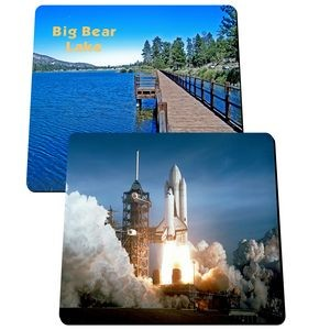 "Rectangle Mouse Pad 7 3/4"" x 9 1/4"" x 1/8"""