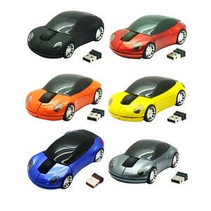 Sports Car Shaped Mouse wireless