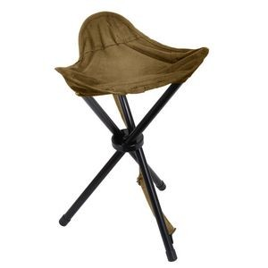 Coyote Brown Collapsible Stool