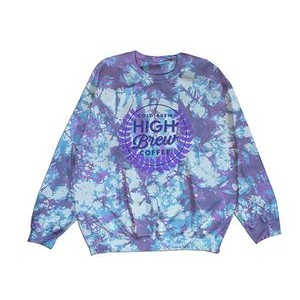 Crewneck Sweatshirt with Allover Print