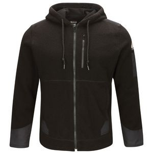 Bulwark® Men's Front Zip Modacrylic Blended Fleece Hoodie