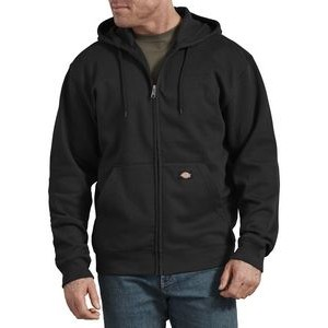 Dickies® Men's Fleece Full Zip Hoodie